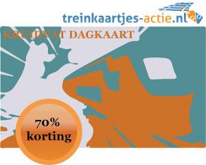 Treinkaartjes actie bij Kruidvat in mei 2015
