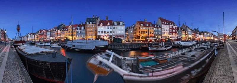 Treinreis naar Kopenhagen