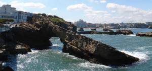 Treinreis naar Biarritz