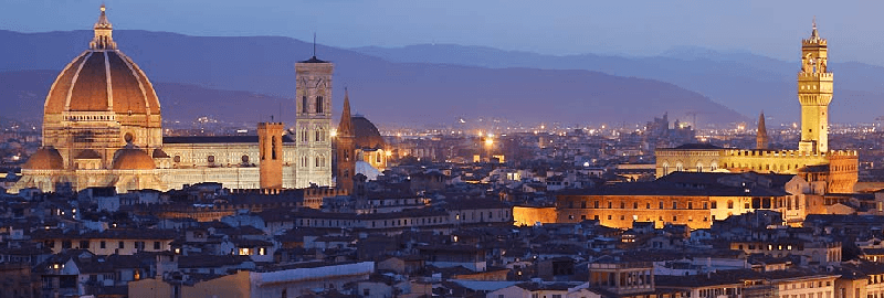 Treinreis naar Florence