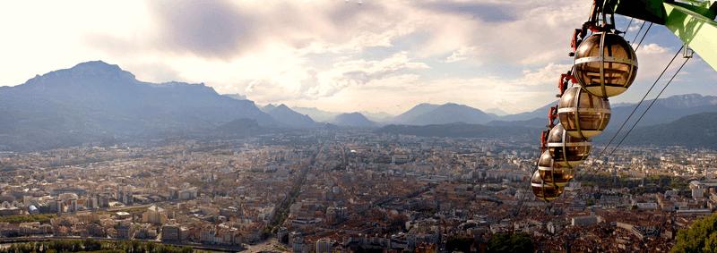 Treinreis naar Grenoble
