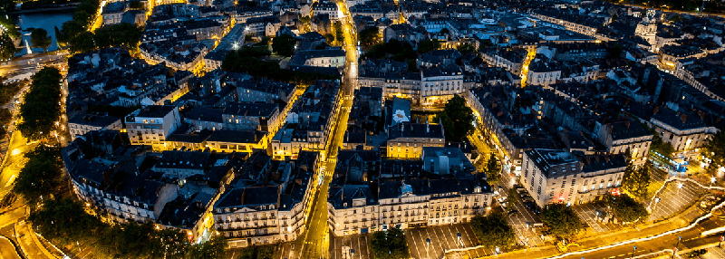 Treinreis naar Nantes