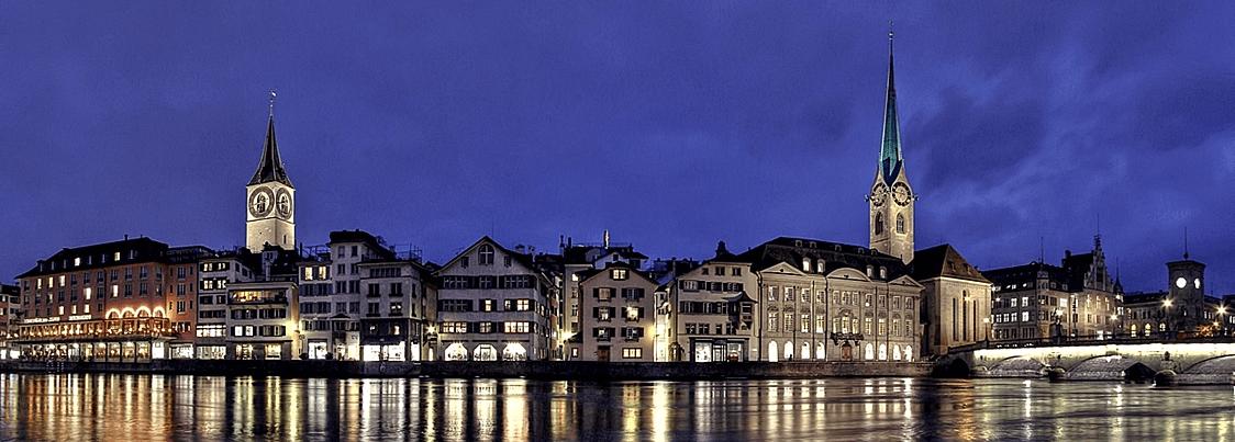 Treinreis naar Zurich