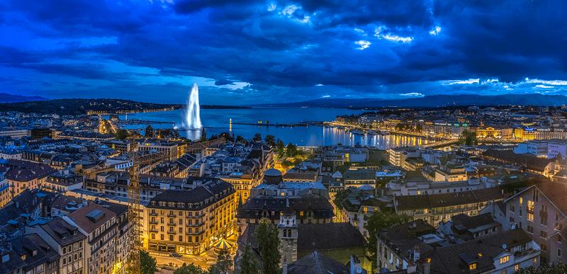 Treinreis naar Geneve