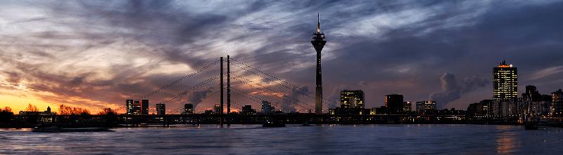 Trein naar Düsseldorf