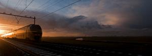 Noodlottig treinongeluk bij overgang Bilthoven