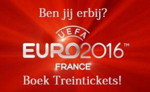 Trein naar EK 2016