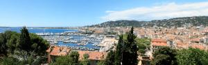 Trein naar Cannes