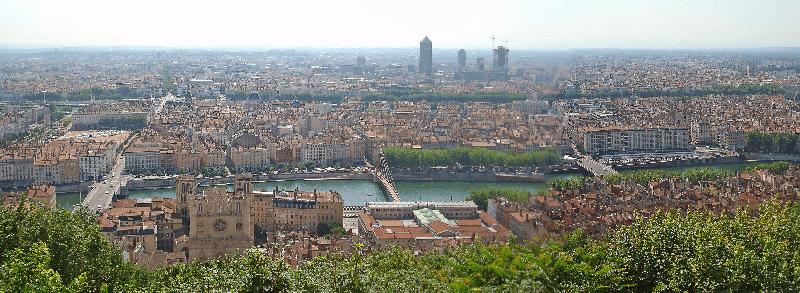 Trein naar Lyon