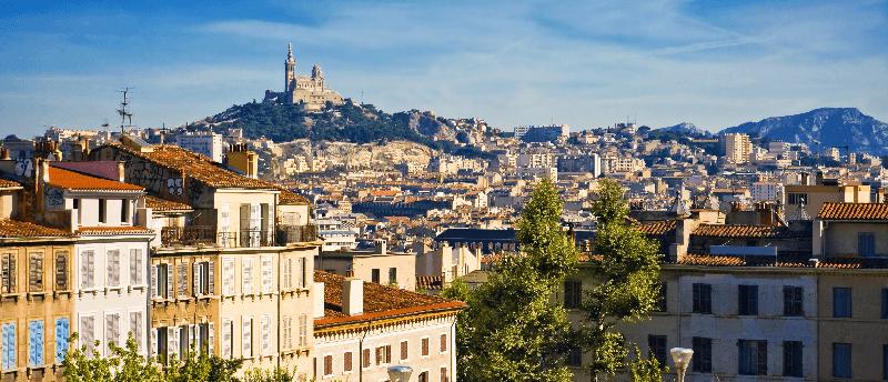 Trein naar Marseille