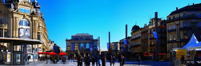 Trein naar Montpellier