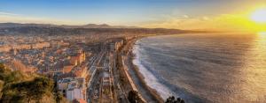 Trein naar Nice