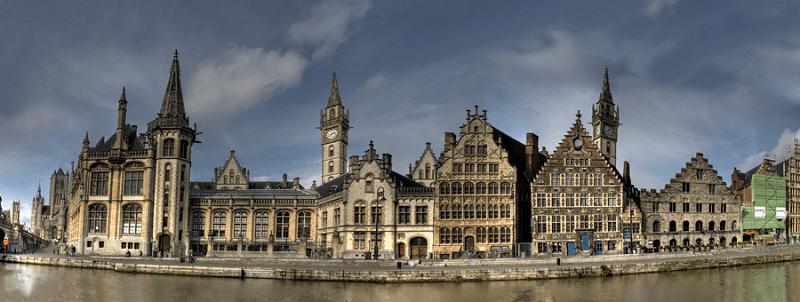 Trein naar Gent