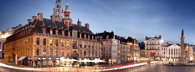 Trein naar Lille