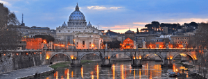 Treinreis naar Rome