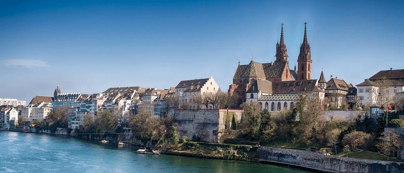 Trein naar Basel