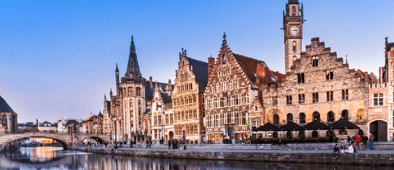 Trein naar Belgie