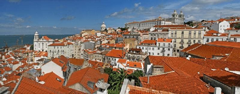 Trein naar Lissabon