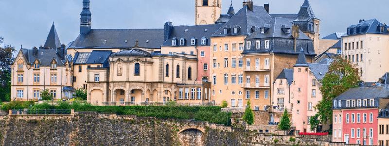 Trein naar Luxemburg