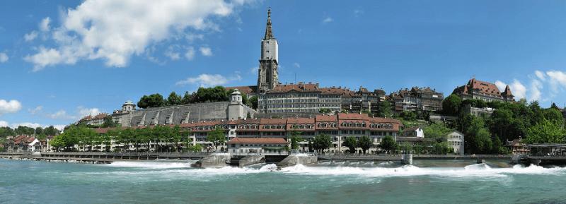Trein naar Bern