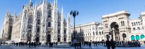 Trein naar Milaan