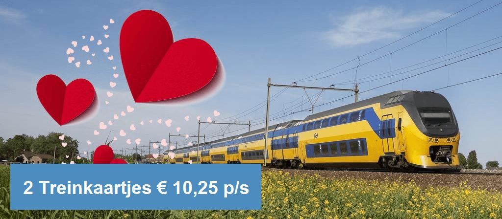 2 NS-treinkaartjes (enkele reis)
