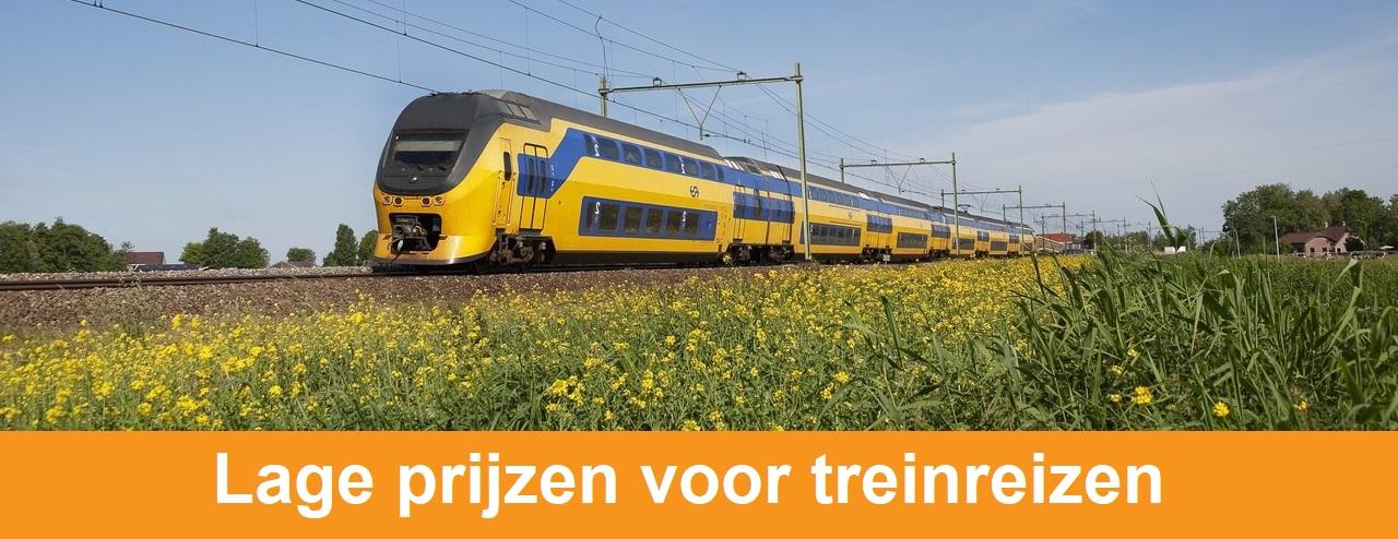 Goedkope treinkaartjes: trein acties in 2020